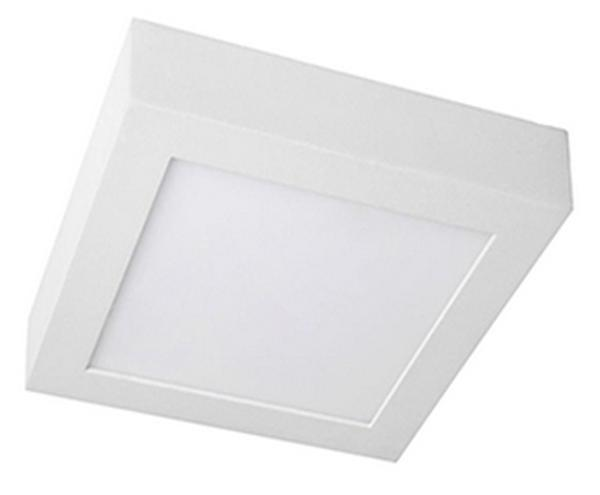 Luminaria LED modelo Donwled Basic Cuadrado Uniled Superficie