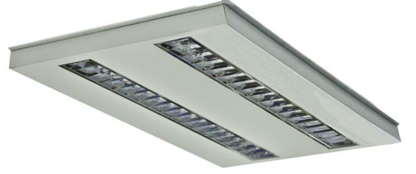 Luminaria LED modelo OFFICE LED UNILED Basic 1200 2T