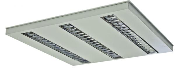 Luminaria LED modelo OFFICE LED UNILED Basic 600 3T
