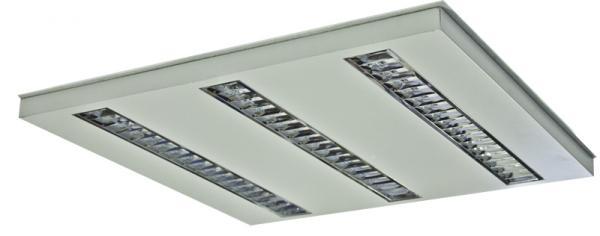 Luminaria LED modelo OFFICE LED UNILED Basic 600 3T